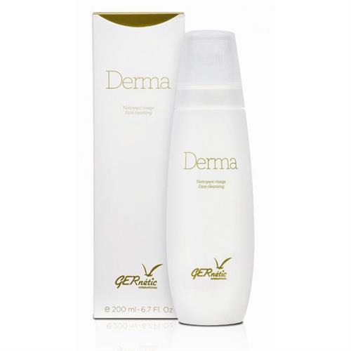 "Derma דרמה ג'רנטיק סבון מעולה לניקוי עור הפנים מצויין לעור עם נטייה לשמנוניות ואקנה. 200 מ""ל"