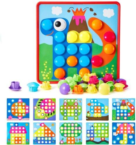 משחק מוטוריקה - לוח כפתורים