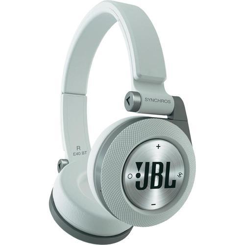 """אוזניות JBL E40BT Bluetooth,אוזניות קשת אלחוטיות בעלות דרייבר 40 מ""""מ איכותי עם באסים מודגשים,"""