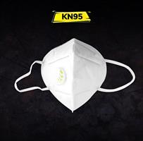 5 יחידות של מסכת הגנה נשמית, ברמת הגנה KN95, שסתום פליטה לצמצום החשיפה לוירוס הקורונה
