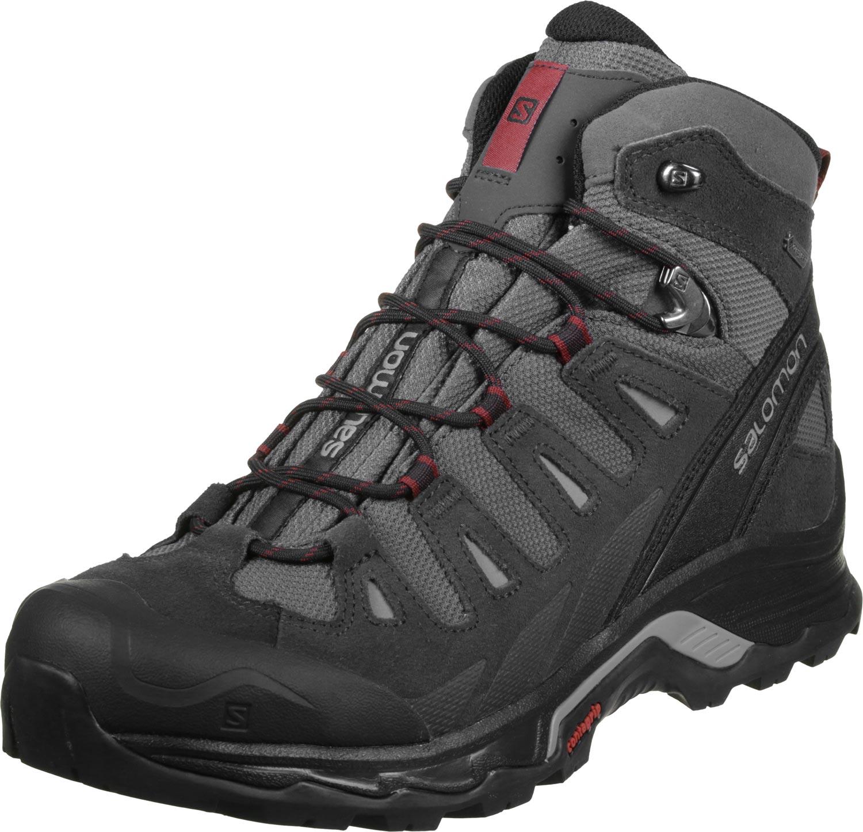נעלי  הרים סלומון  לגבר אפור Quest Prime GTX