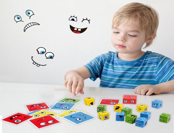 משחק קוביות פרצופים אסטרטגי
