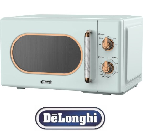 DeLonghi מיקרוגל מכני 20 ליטר רטרו דגם DL3720G