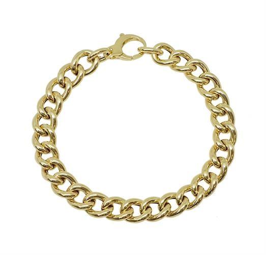 צמיד זהב חוליות עדין לאישה מזהב 14 קאראט