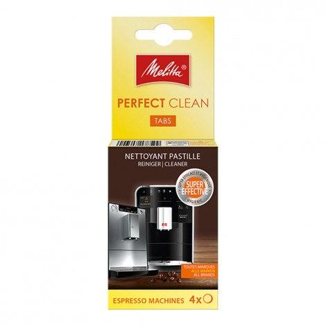 טבליות ניקוי שומני קפה מליטה 4 יח melitta perfect clean