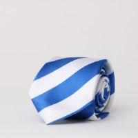 עניבת פסים כחול לבן