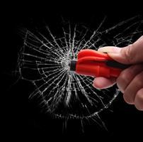 פטיש חירום לניפוץ חלונות-בטיחות הרכב