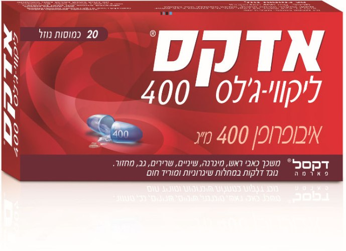 אדקס ליקווי -ג'לס 400 ADEX LIQUID GEL