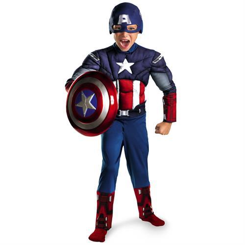 תחפושת קפטן אמריקה לילדים