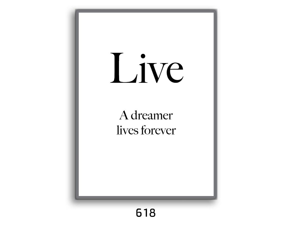 תמונת השראה LIVE החולם חי לנצח דגם 618