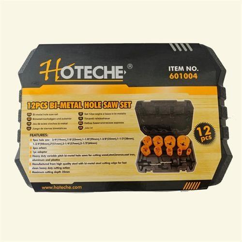 סט 12 חלקים בי מטל למתכת -עץ - פלסטיק וגבס מבית חברת HOTECHE