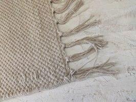 שטיח כותנה אריגה שטוחה - טבעי