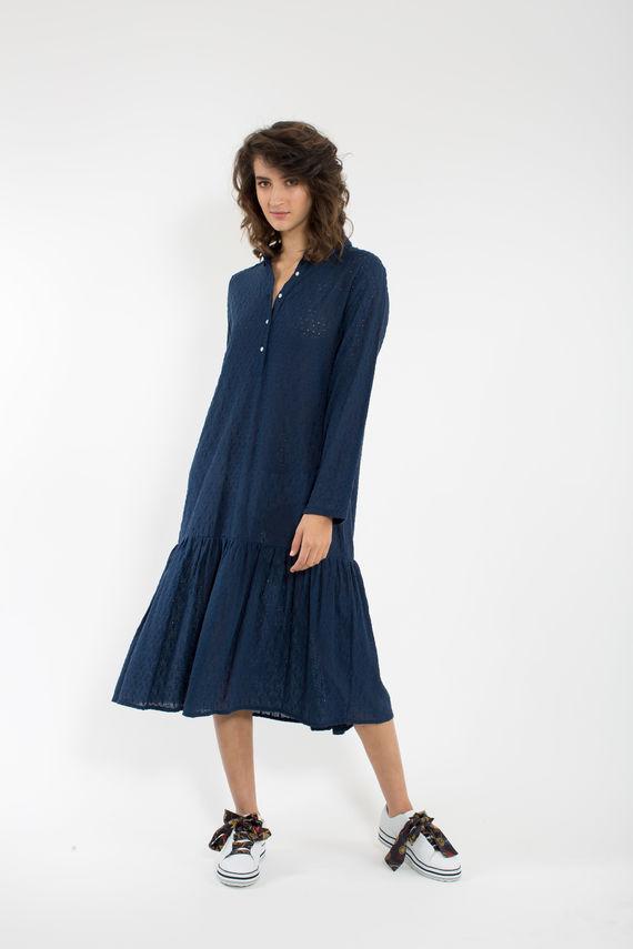 שמלת בייבי לי כחולה