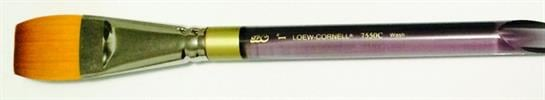 1 - Loew Cornell Flat Brush מכחולים שטוחים מקצועיים