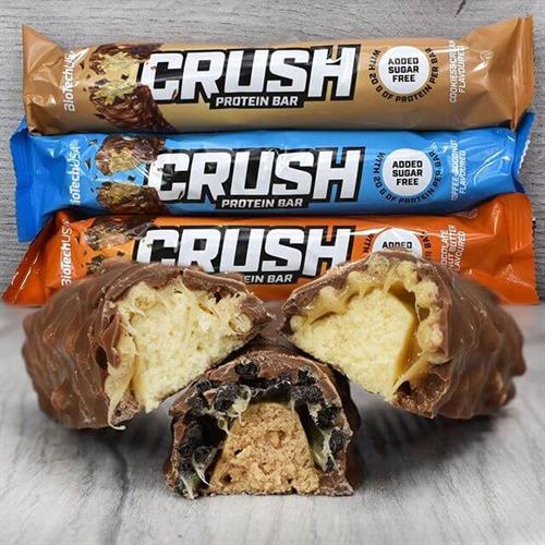 חטיף CRUSH |בטעם אגוזי לוז שוקולד 1 יח מתנה בהזנת קופון G2 בקנייה מעל 299.90 שח בלבד