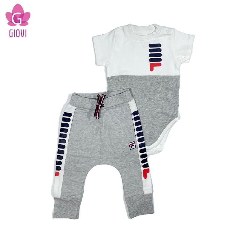 חליפת מעבר שרוול קצר תינוקות