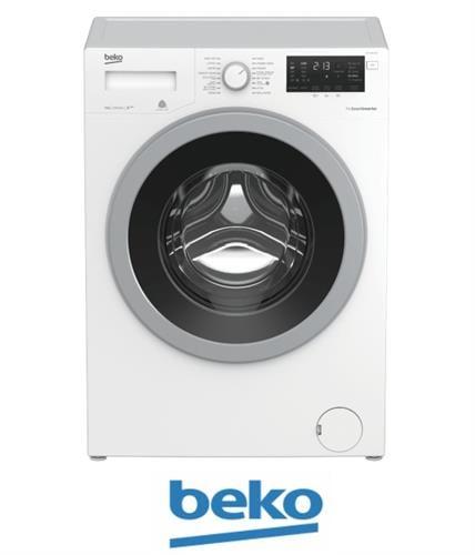"""beko  מכונת כביסה 9 ק""""ג 1200 סל""""ד  דגם WTV-9633XSO"""