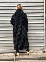 מעיל ברונו שחור