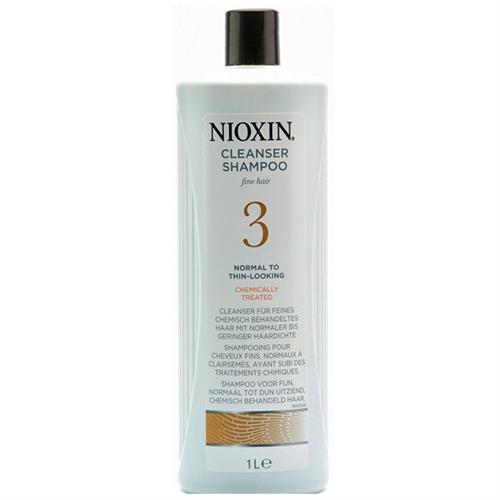 Nioxin System 3 Shampoo 1000 ml שמפו