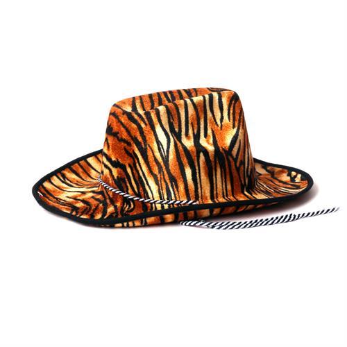 כובע קאובוי מנומר טיגריס