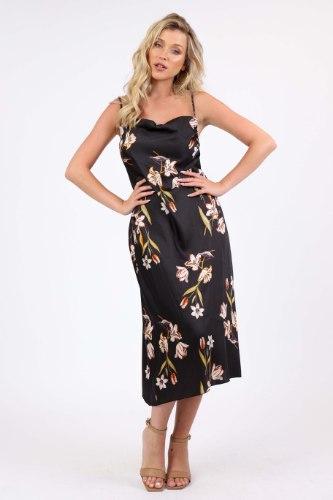 שמלת ערב  מידי נינט מודפס