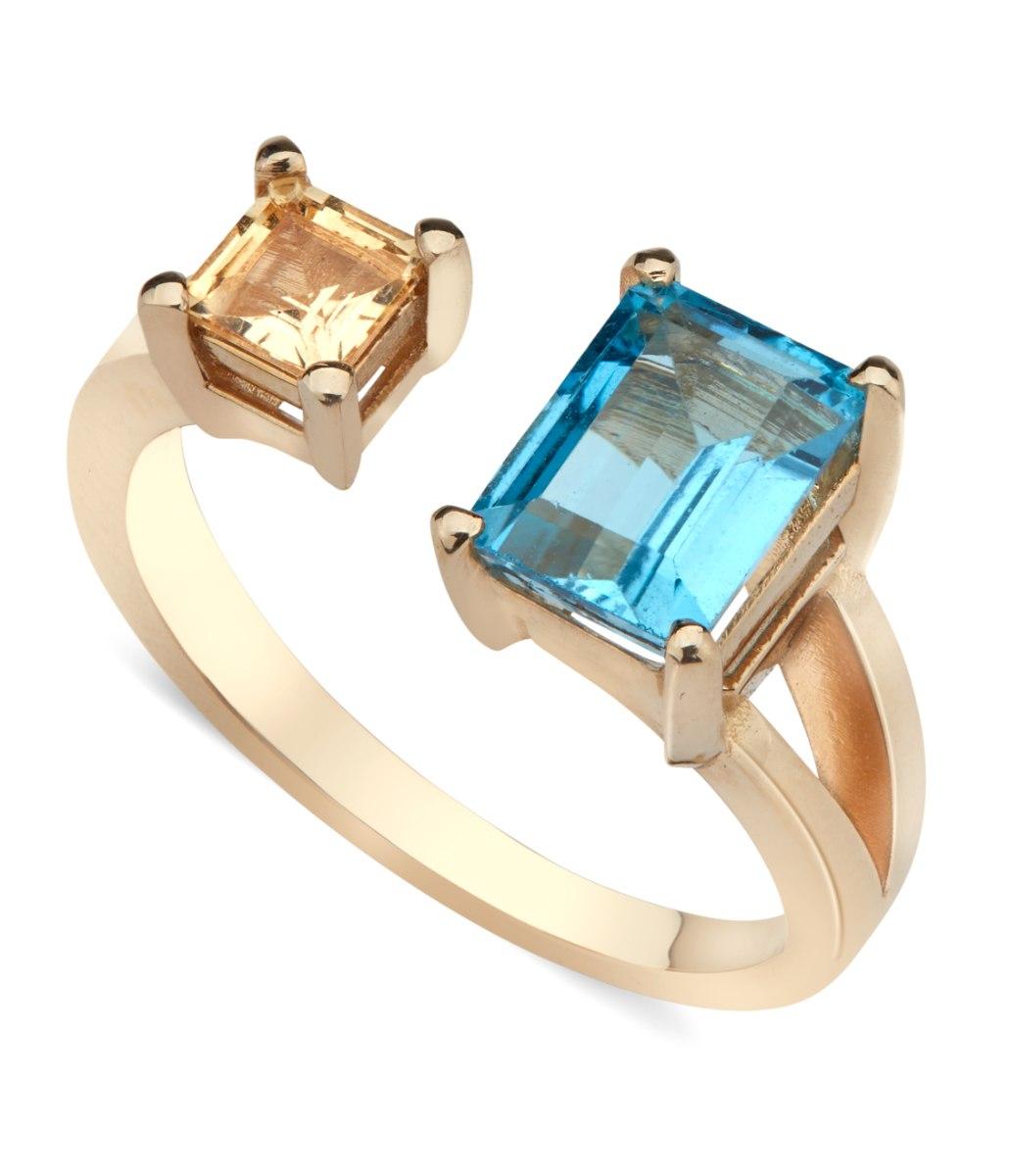 טבעת סנדי זהב 14 קראט