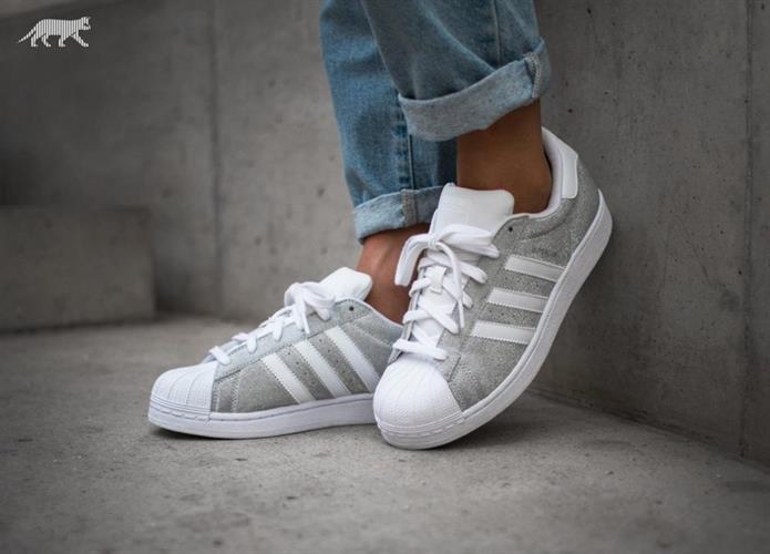 נעלי adidas superstar 80s adidas white silvmt יוניסקס מידה 38