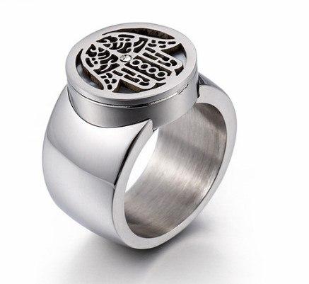 טבעת DOART - חמסה עבה כסוף