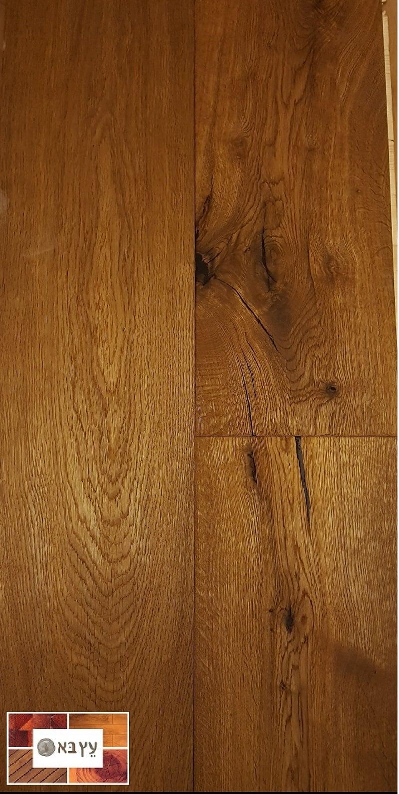 מצטיין פרקט עץ אלון תלת שכבתי מעושן בשמן - פרקטים EW-42