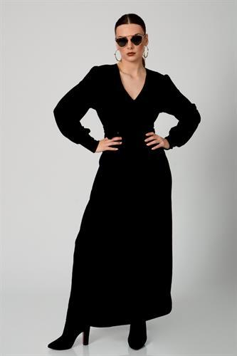 שמלת מילאנו ערב שחורה
