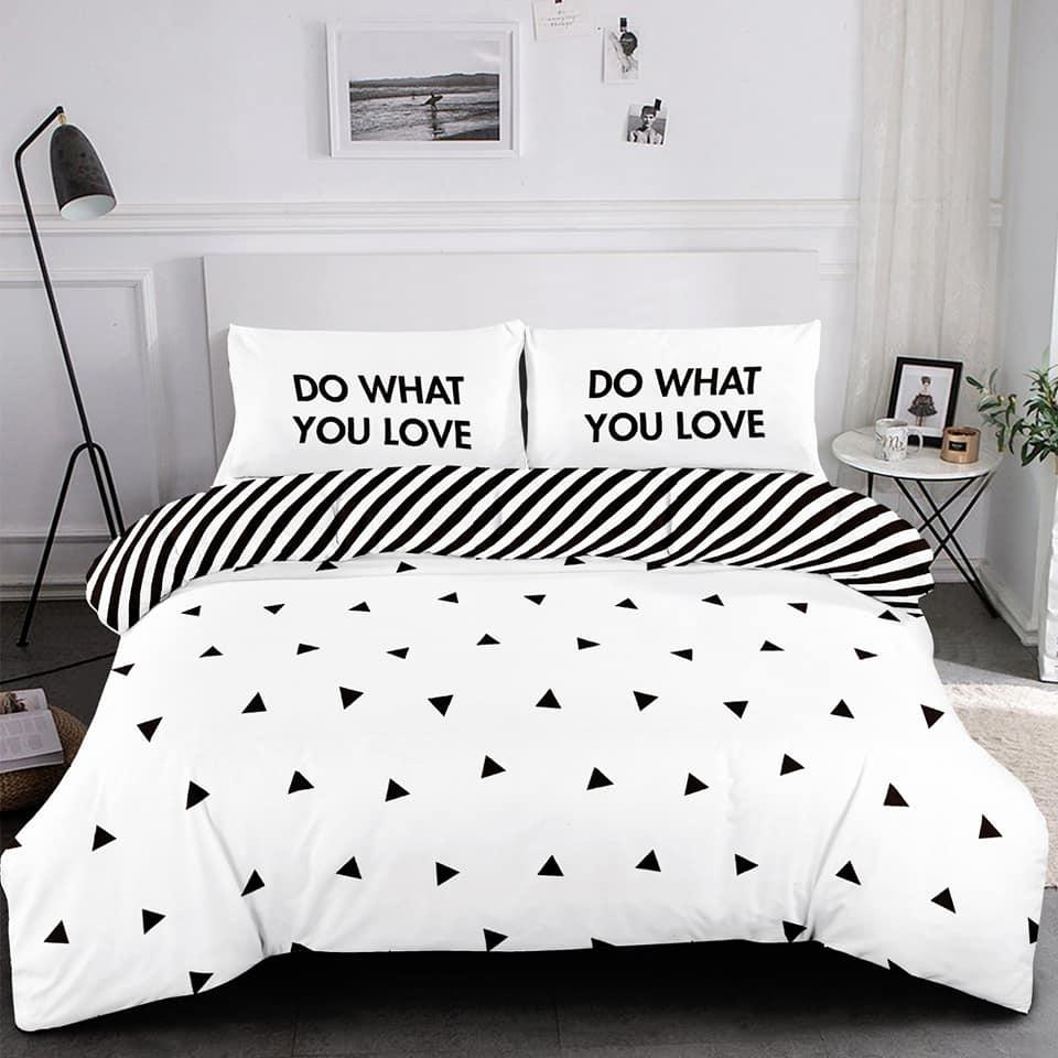 """סט מיטה וחצי דגם ג""""מיקה100% כותנה"""