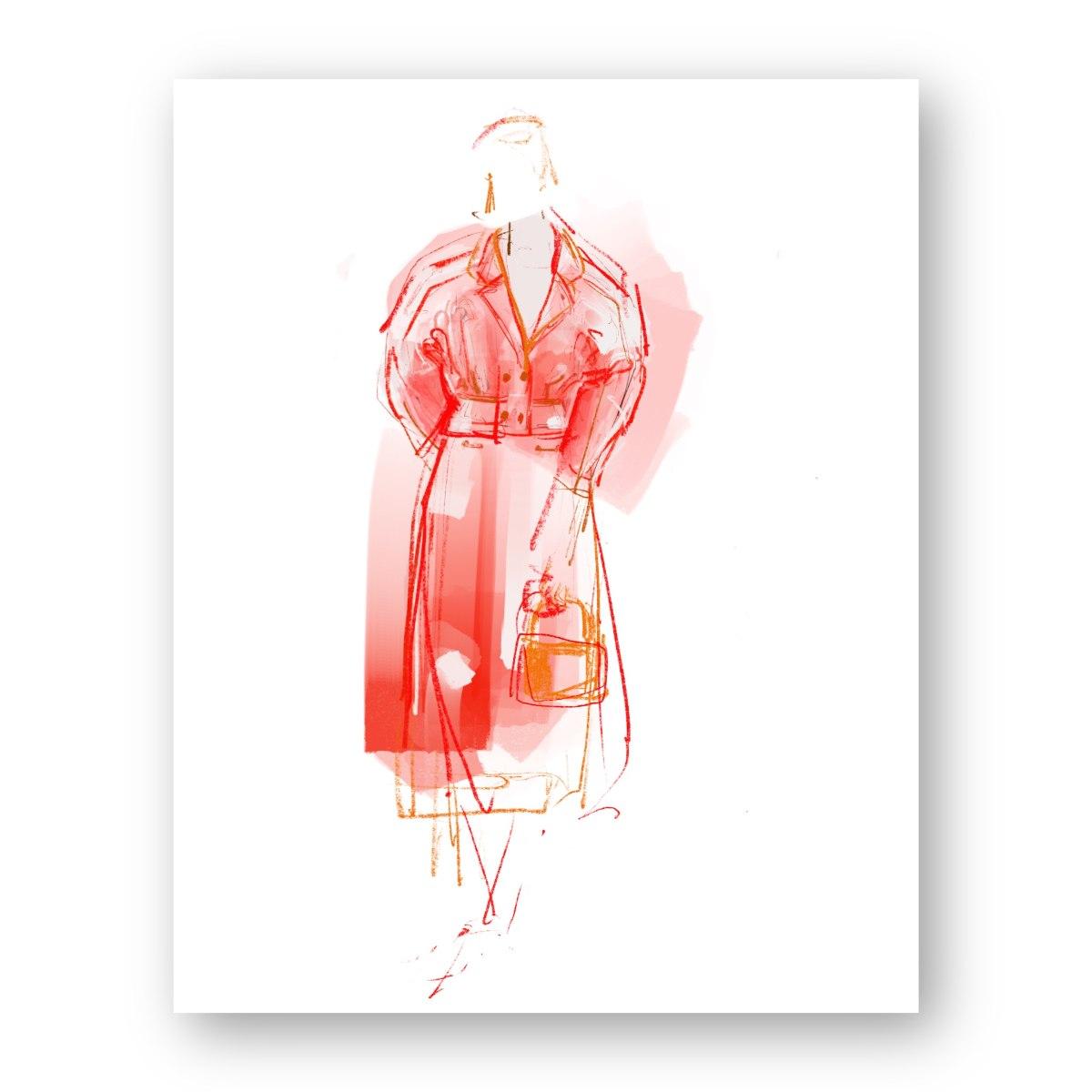 איור אופנה #4