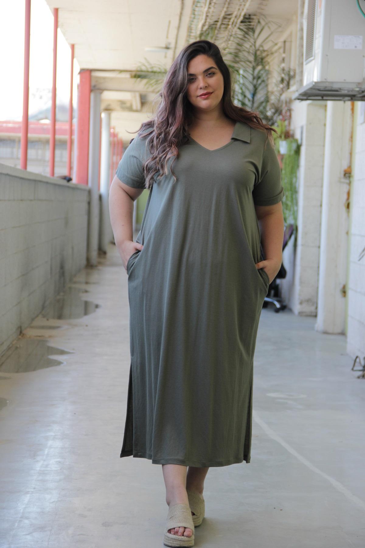 שמלת דריה קיץ ירוק