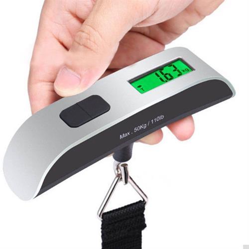 מכשיר דיגיטלי למדידת משקל תיקים ומזוודות