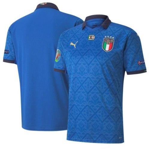 חולצת גמר יורו 2020 איטליה בית - במהדורה מוגבלת!