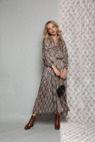 שמלת שיפון דולצ'ה