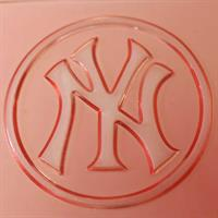 EMBOSSED STAMP NEW YORK YANKEES