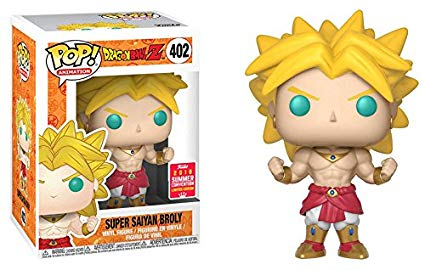 Funko Pop - Super saiyan Broly