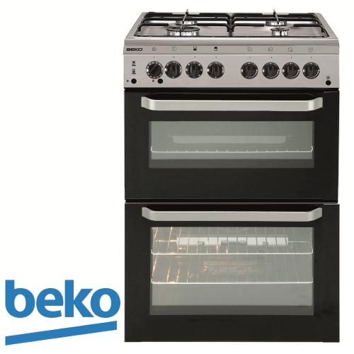 תנור משולב דו תאי beko דגם: KCDM-62110DX דגם 2017 נירוסטה