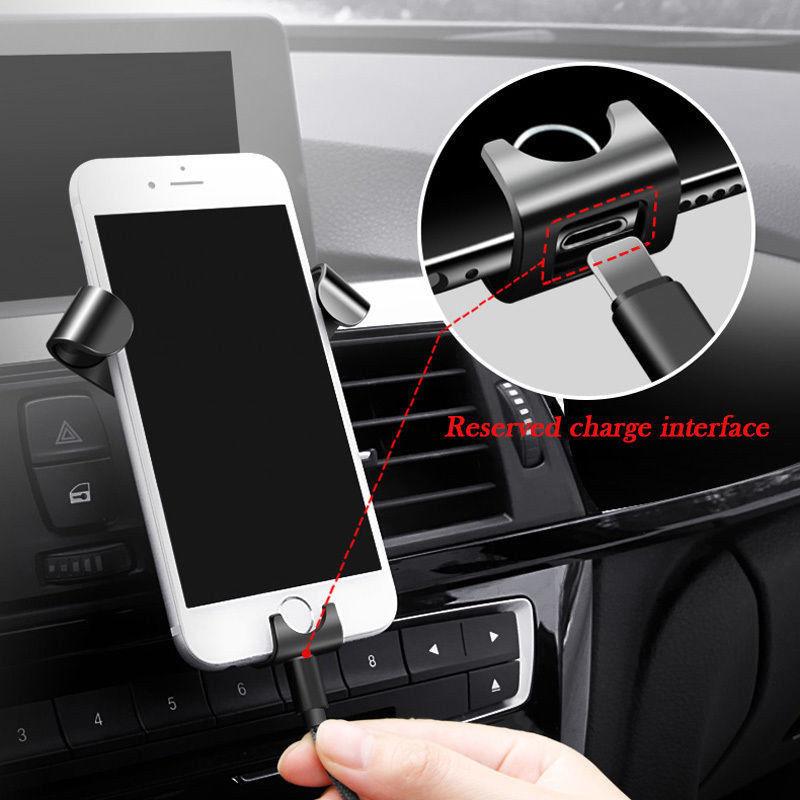 מעמד חדשני לטלפון הנייד ברכב