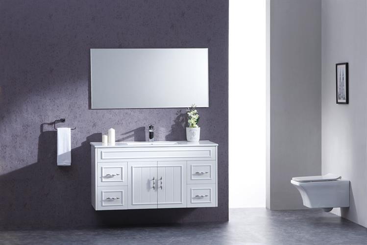 ארון אמבטיה תלוי בעיצוב נקי דגם גולן GOLAN
