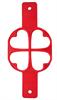 רביעיית לבבות - תבנית סיליקון להכנת פנקייקים