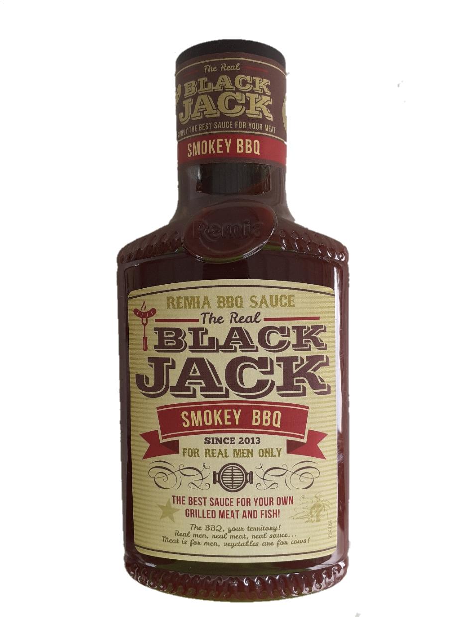 רוטב ברבקיו מעושן BALCK JACK