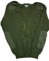 סוודר חיילות עם כותפות וטלאים תקני לצבא