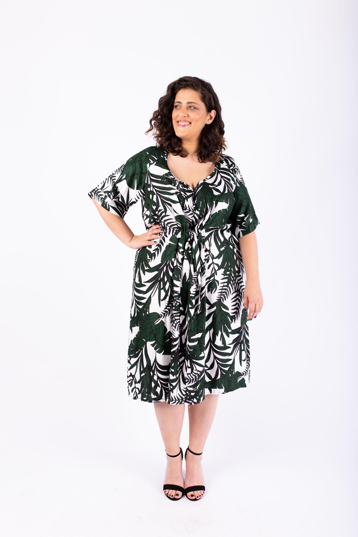 שמלת ברנדה ירוקה