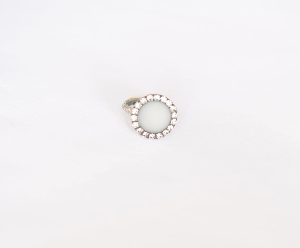 טבעת טיילור כסף מושחר- שביל החלב-תכשיטים למניקות
