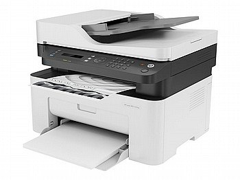 מדפסת לייזר HP LASER MFP 137FNW