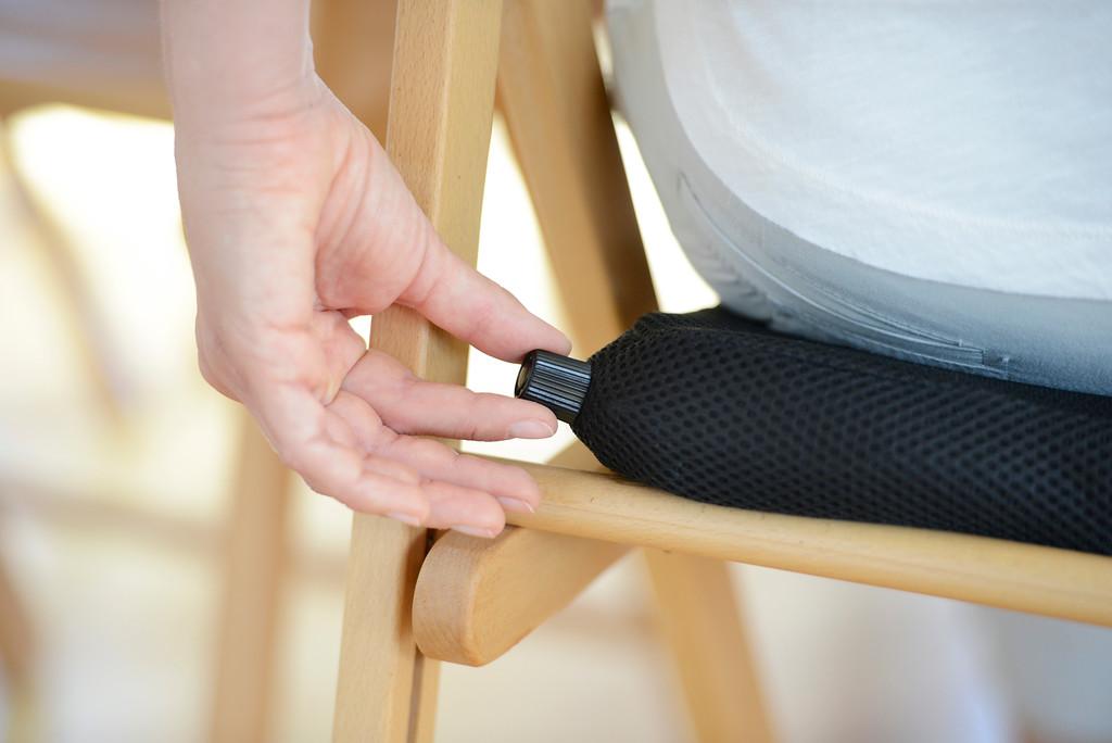 Sit Air כרית ישיבה עם וסת אוויר לישיבה זקופה