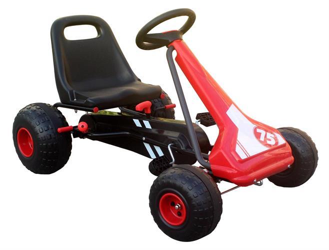 מכונית פדלים דגם אילון צבע אדום