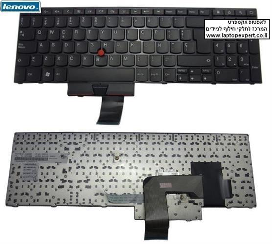 מקלדת להחלפה במחשב נייד לנובו Lenovo original ThinkPad E520 E525 keyboard 04W0872, 04W0836 , 0A62075